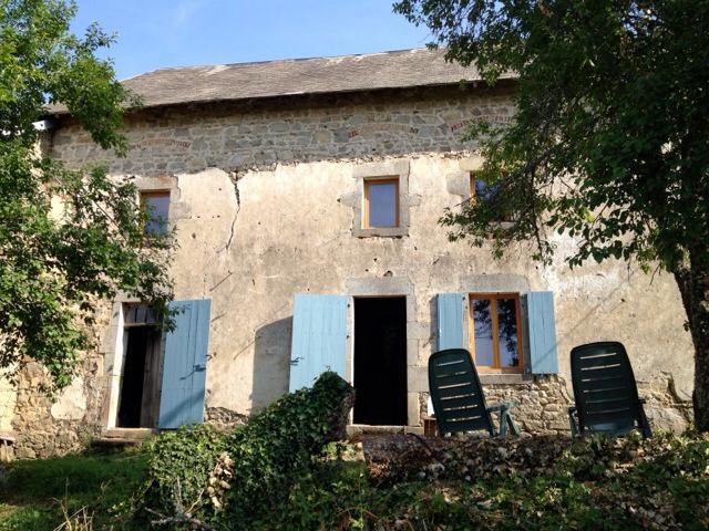 Huis in Auvergne met Allback verf