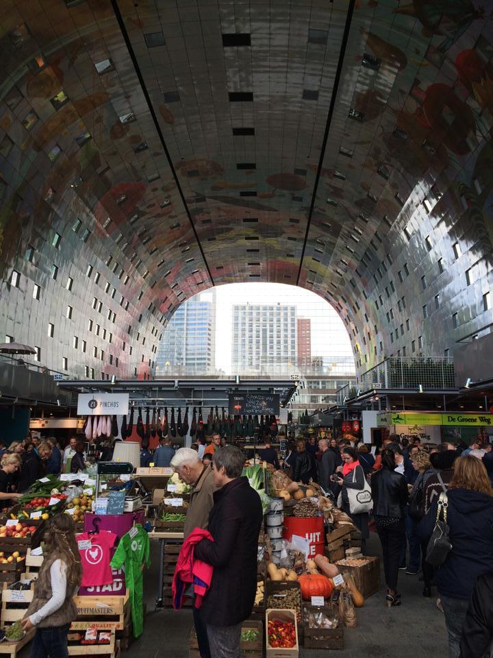 Duurzaam project: markthal Rotterdam