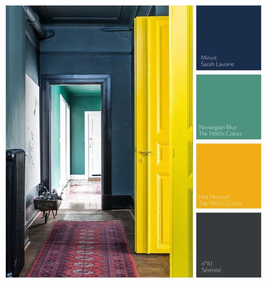Kleurinspiratie voor het weekend